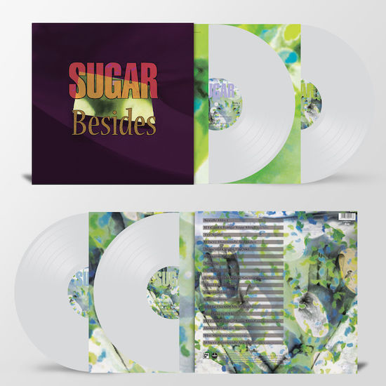 Sugar: Besides: Limited Edition Heavyweight Clear Vinyl