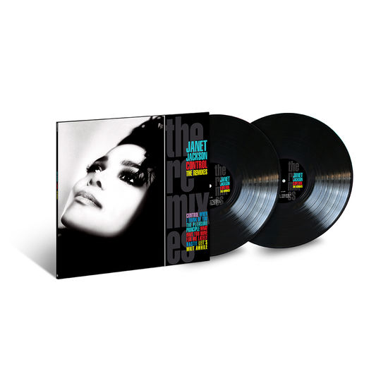 Janet Jackson: Control: The Remixes Double Vinyl