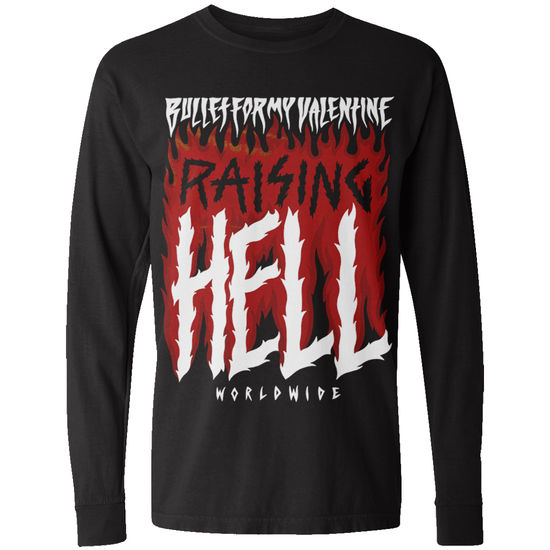 Bullet For My Valentine: Raising Hell Longsleeve T-Shirt