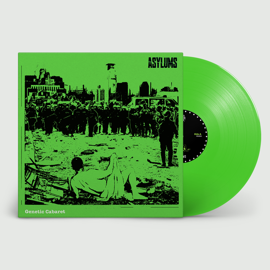 Asylums: Genetic Cabaret: Limited Edition Green Vinyl