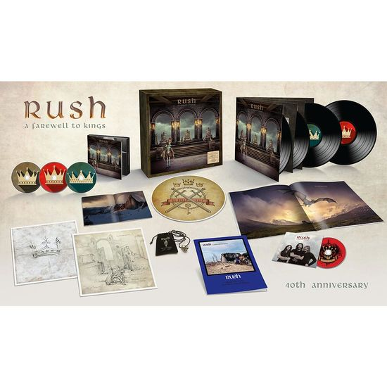 Rush: A Farewell To Kings: 40th Anniversary Box Set