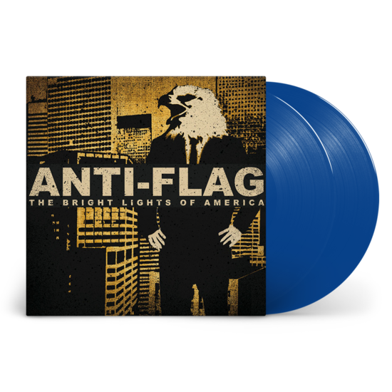 Anti-Flag: Bright Lights of America: Limited Edition Blue Double Vinyl