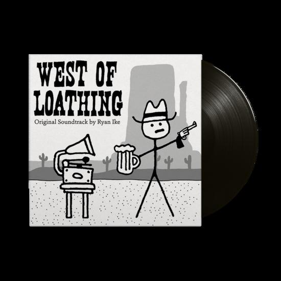 Ryan Ike: West Of Loathing - Original Video Game Soundtrack: Limited Edition Black & White Splatter Vinyl