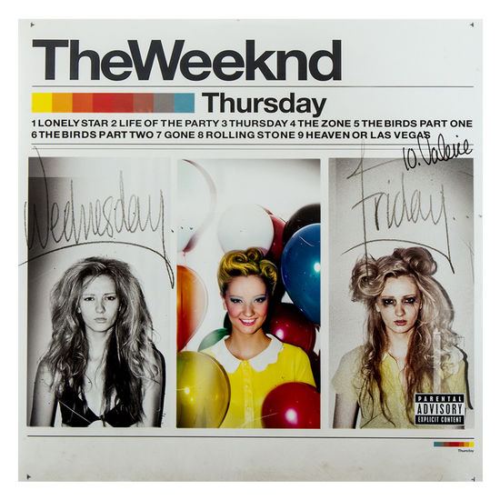 The Weeknd: Thursday LP