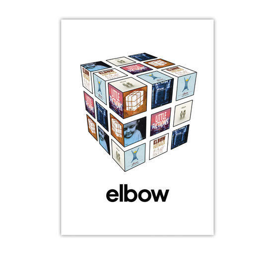 Elbow: The Best Of...Cubic Art Print