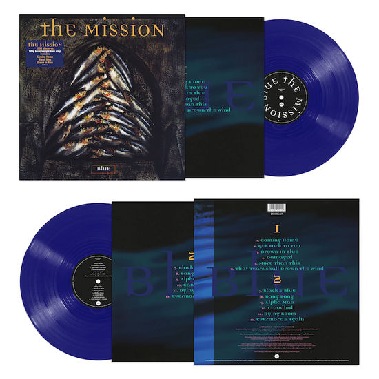 The Mission: Blue: Limited Edition Blue Vinyl