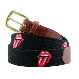 The Rolling Stones: Rolling Stones Needlepoint Belt