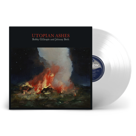 Bobby Gillespie: Utopian Ashes: Limited Edition Clear Vinyl LP