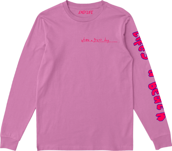 Easy Life: life's a beach: have a great day longsleeve