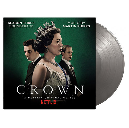 Original Soundtrack: The Crown Season Two: SOV UK Exclusive Limited Silver Vinyl