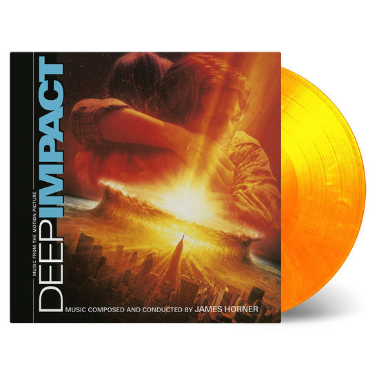 Original Soundtrack: Deep Impact: Yellow and Orange Mixed Double Vinyl
