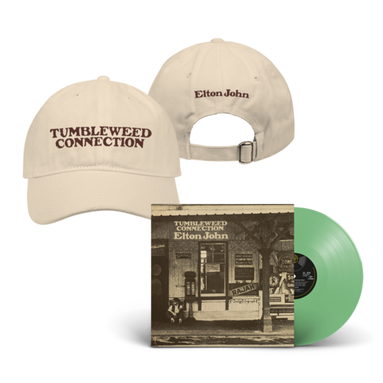 Elton John: Tumbleweed Connection: Exclusive Green Vinyl + Cap