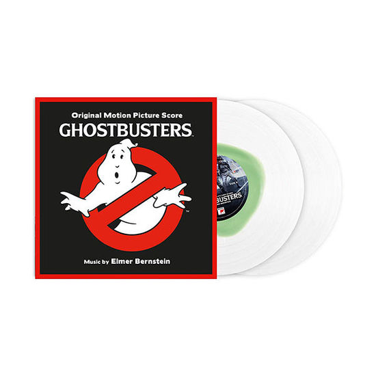 Elmer Bernstein: Ghostbusters OST 35th Anniversary Edition: Limited Clear & Slime Green Splat Vinyl