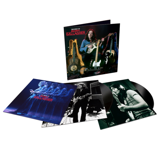 Rory Gallagher: The Best Of: Double Black Vinyl