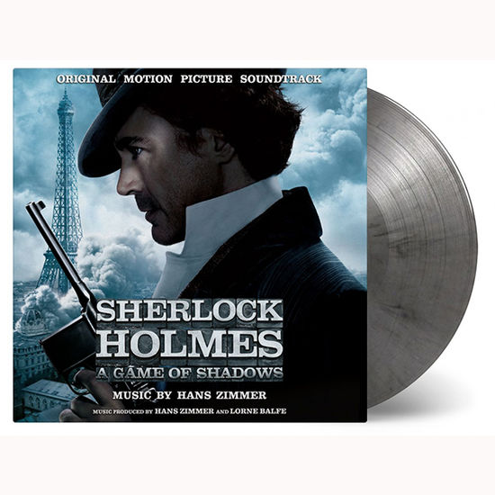 Hans Zimmer: Sherlock Holmes Game Of Shadows: Limited Edition Silver & Black Marbled Vinyl
