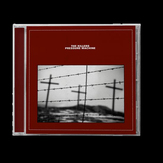 The Killers: PRESSURE MACHINE RED COVER CD