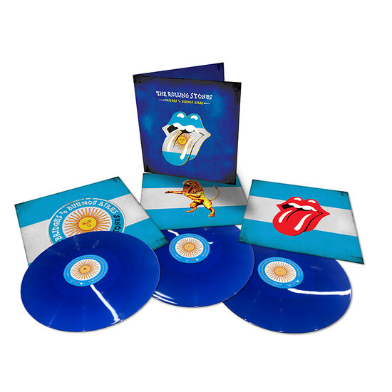The Rolling Stones: Bridges To Buenos Aires: Limited Edition Triple Blue Vinyl