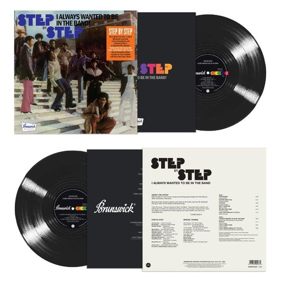 Step By Step: I Always Wanted To Be In The Band: Limited Edition Black Vinyl