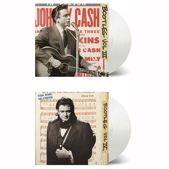 Johnny Cash: Bootleg Volume 3 & 4: Limited Edition Transparent Vinyl Bundle