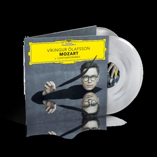 Vikingur Olafsson : Mozart & Contemporaries: Exclusive Crystal Clear Vinyl 2LP