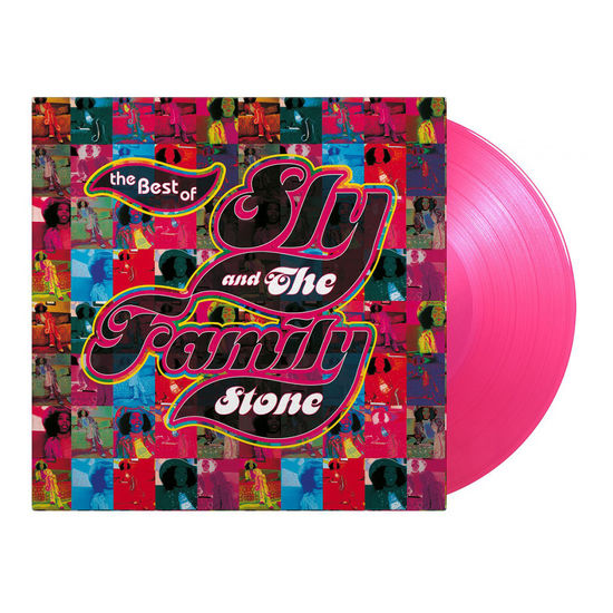 Sly & The Family Stone: Best Of: Limited Edition Transparent Pink Vinyl