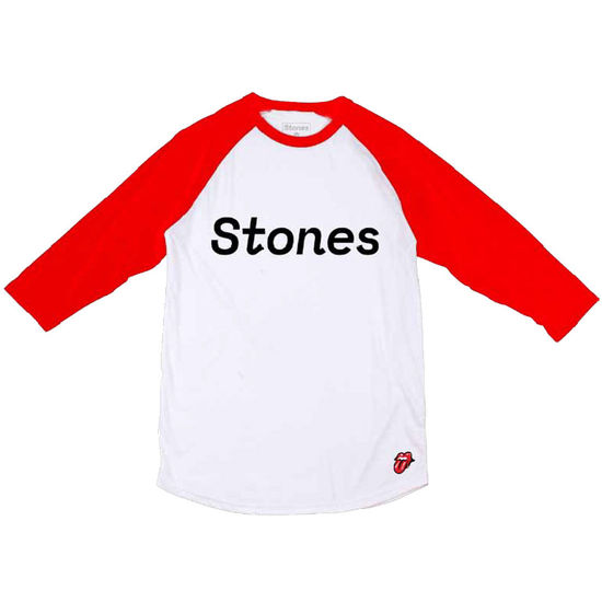 The Rolling Stones: Stones Red Baseball Tee