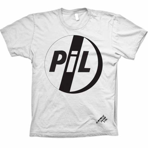 Public Image Limited: PiL Classic Logo Black T-Shirt