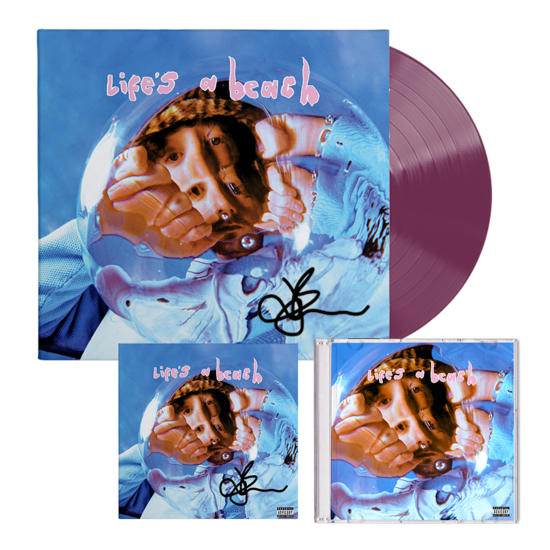 Easy Life: life's a beach: exclusive Jordan signed lp, cd + signed art card