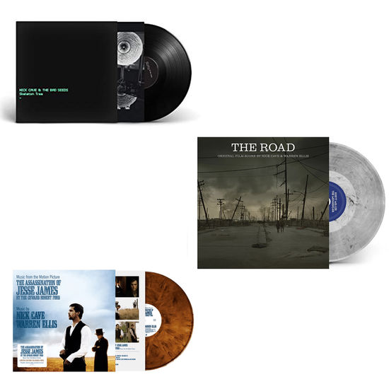 Nick Cave: The Sound Of Nick Cave: Skeleton Tree, The Road & The Assassination Of Jesse James Limited Edition Vinyl Bundle