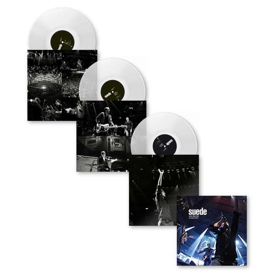 Suede: Royal Albert Hall – 24th March 2010: Limited Edition 180g Clear Vinyl