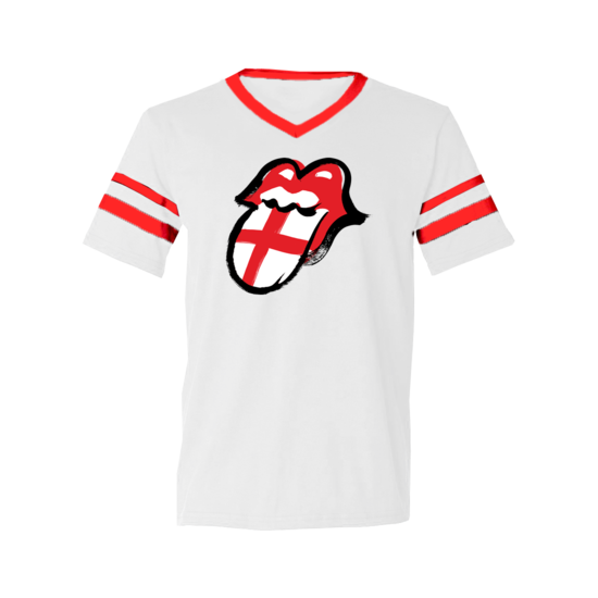 The Rolling Stones: England Ringer T-Shirt - S