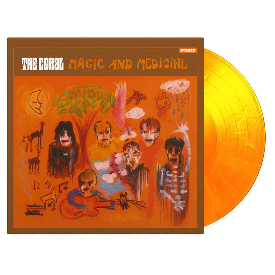 The Coral: Magic and Medicine: Flaming Numbered Vinyl