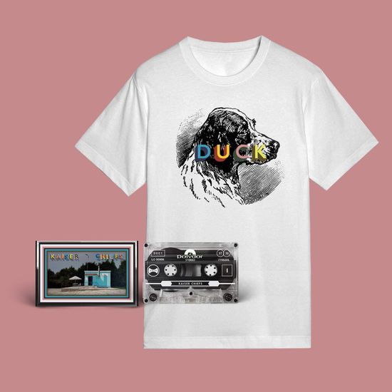 Kaiser Chiefs: Dog T-Shirt + Cassette