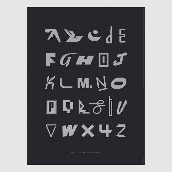 Dorothy: Alphabet of Electronic Music Screen Print Poster