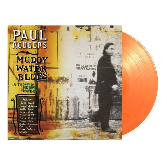 Paul Rodgers: Muddy Water Blues: Limited Edition Orange Vinyl