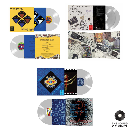 The Fall: The Sound Of The Fall Colour Vinyl Bundle