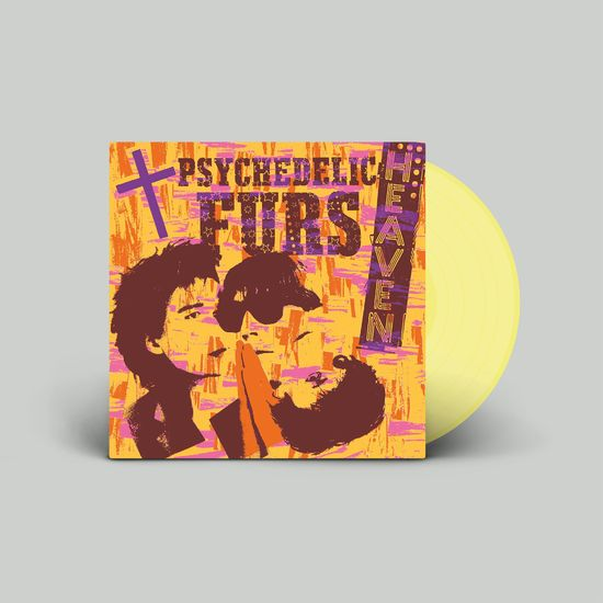 The Psychedelic Furs: Heaven / Heartbeat: Limited Edition Pale Yellow Vinyl
