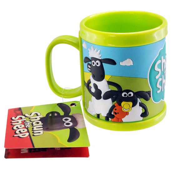 Shaun the Sheep: Shaun Childrens PVC 3D Mug