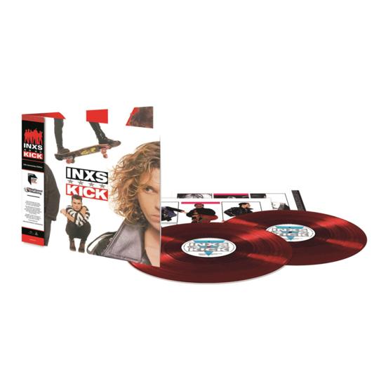 INXS: Kick: Half-Speed Master Exclusive Red Vinyl