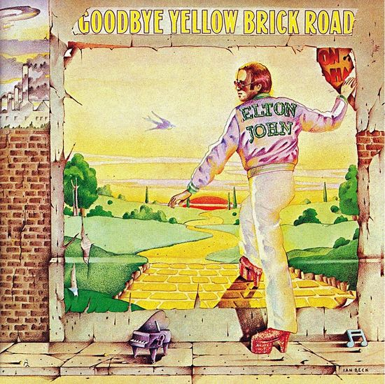 Elton John: Goodbye Yellow Brick Road 2LP Yellow Vinyl 2014