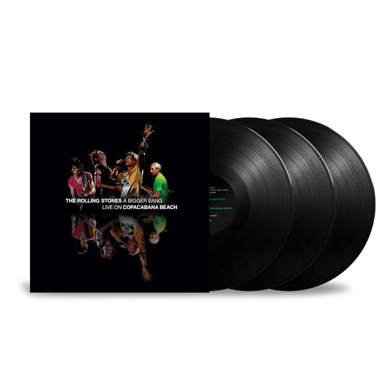 The Rolling Stones: 'A Bigger Bang' Live On Copacabana Beach: Black Vinyl 3LP