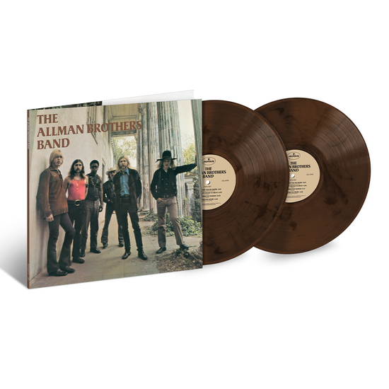 The Allman Brothers Band: The Allman Brothers Band: Exclusive Brown and Black Marbled Double Vinyl LP