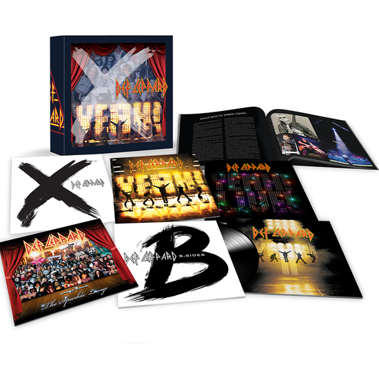 Def Leppard: Volume Three: Limited Edition 9LP Vinyl Box Set