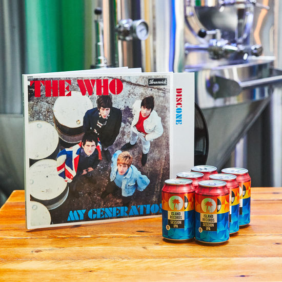 The Who: My Generation Deluxe Vinyl + Island Records Session IPA 6 pack