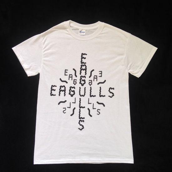 Eagulls: Logo (White)