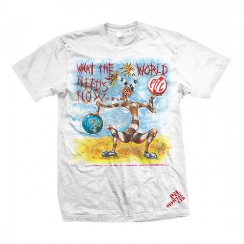 Public Image Limited: PIL What The World Needs Now Colour T-Shirt