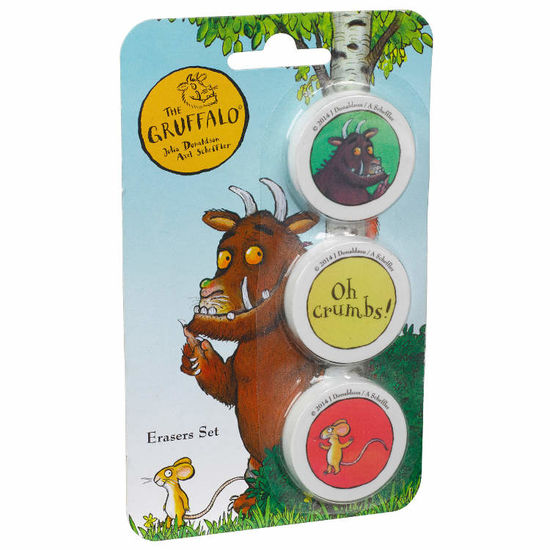 The Gruffalo: Gruffalo Eraser Set