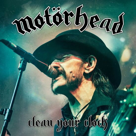 Motörhead: Clean Your Clock: Coloured Vinyl with Pop-Up Art