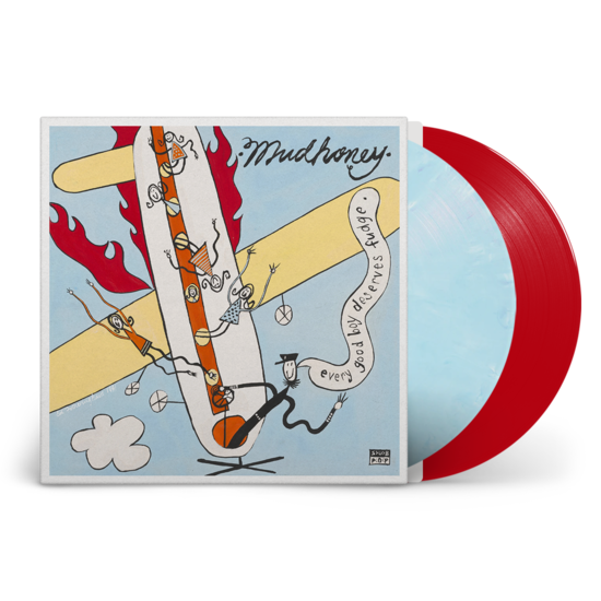 Mudhoney: Every Good Boy Deserves Fudge: Deluxe 30th Anniversary Edition Blue + Red Vinyl 2LP