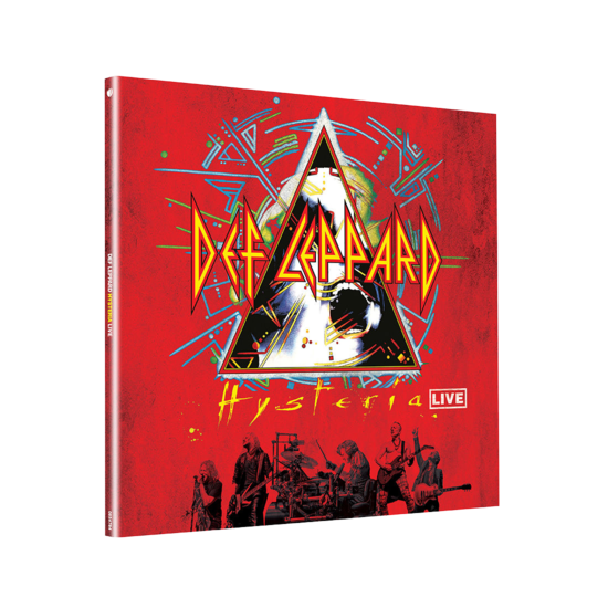 Def Leppard: Hysteria Live: Gatefold Crystal Clear Vinyl